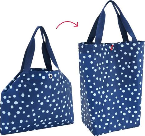 Nákupní taška Reisenthel Modrá s puntíky | changebag