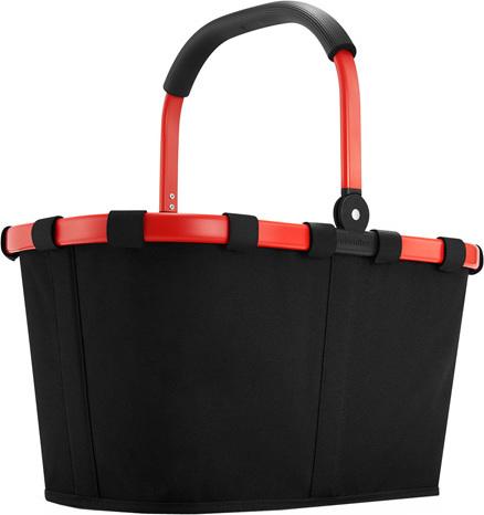 Nákupní košík Reisenthel Černý s červeným rámem | carrybag