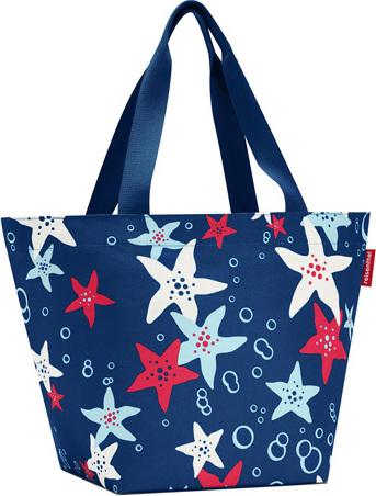 Nákupní taška Reisenthel Modrá s motivem moře | shopper M