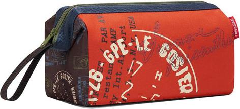 Kosmetická taška Reisenthel Speciální edice s motivem razítek   travelcosmetic