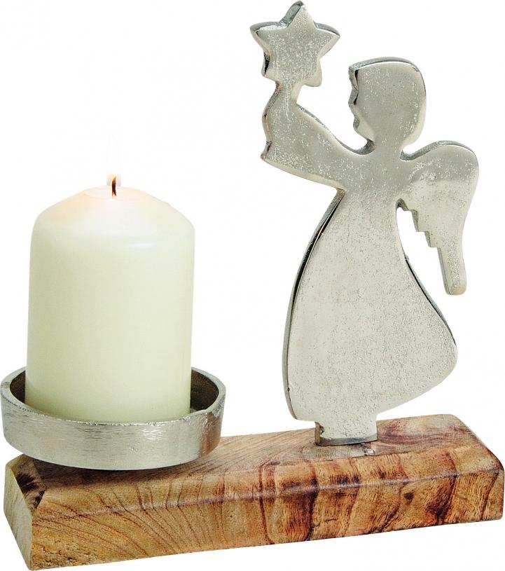 Harasim Anděl svícen 19x18 cm