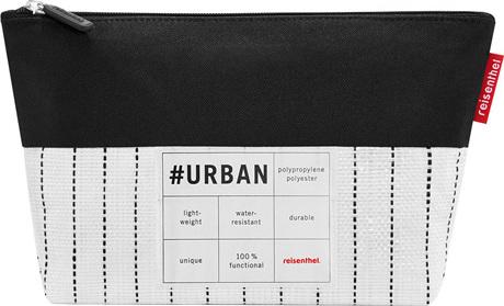 Kosmetická taška Reisenthel Bílo-černá | #urban case new york