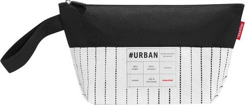 Kosmetická taška Reisenthel Bílo-černá | #urban case tokyo