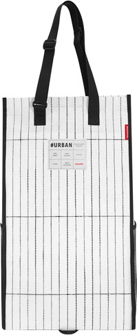 Nákupní taška Reisenthel Bílo-černá, skládací | #urban rollshopper amsterdam