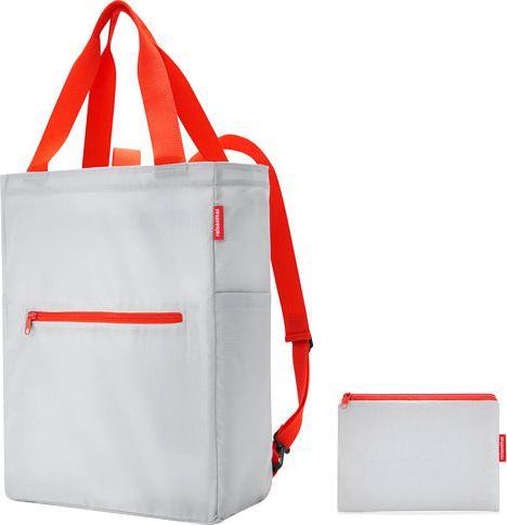 Nákupní taška 2v1 Reisenthel Světle šedá   mini maxi 2in1