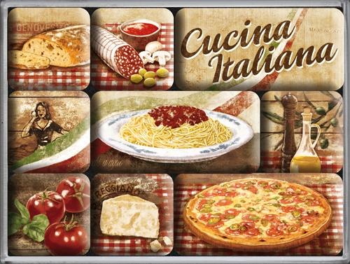 Nostalgic Art Magnetky na ledničku Cucina Italiana