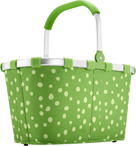 Nákupní košík Reisenthel Zelený s puntíky | carrybag