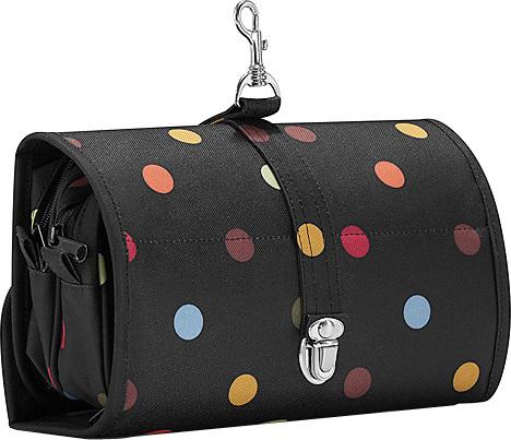 Cestovní kosmetická taška Reisenthel Černá s barevnými puntíky, wrapcosmetic
