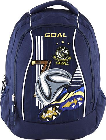 Target Školní batoh Goal Motiv 3D kopačky s míčem 23ad799b03