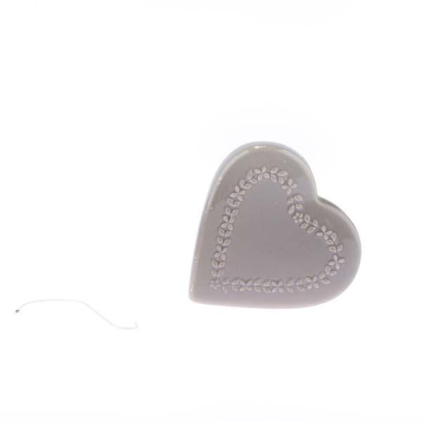 Casa de Engel Zvlhčovač vzduchu | srdce | větší Barva: šedá