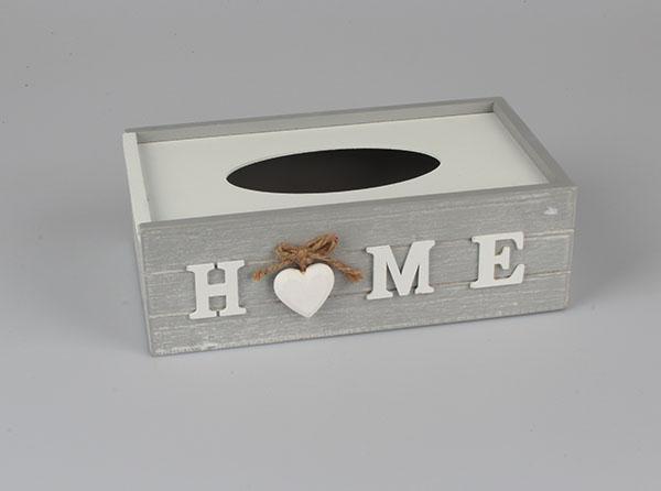 Casa de Engel Krabička na kapesníky | HOME Barva: bílá DACA-D085/BIL