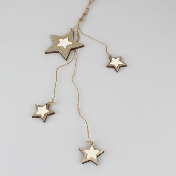 Casa de Engel Dekorace hvězdy | 2 barvy Barva: zlatá