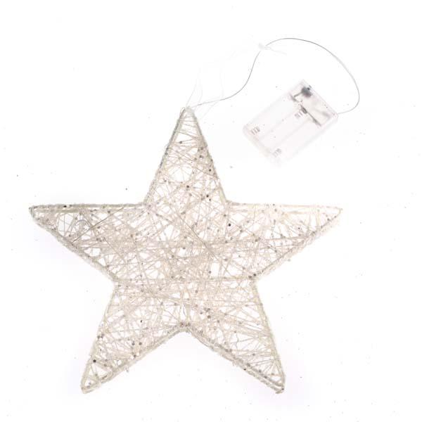 Casa de Engel Hvězda s LED světlem | 2 rozměry Velikost: větší, Provedení: A