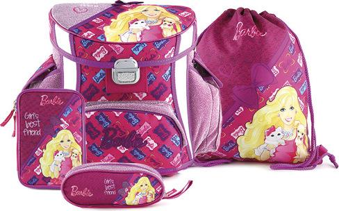 Winx Club Školní set Target Barbie, barva růžová