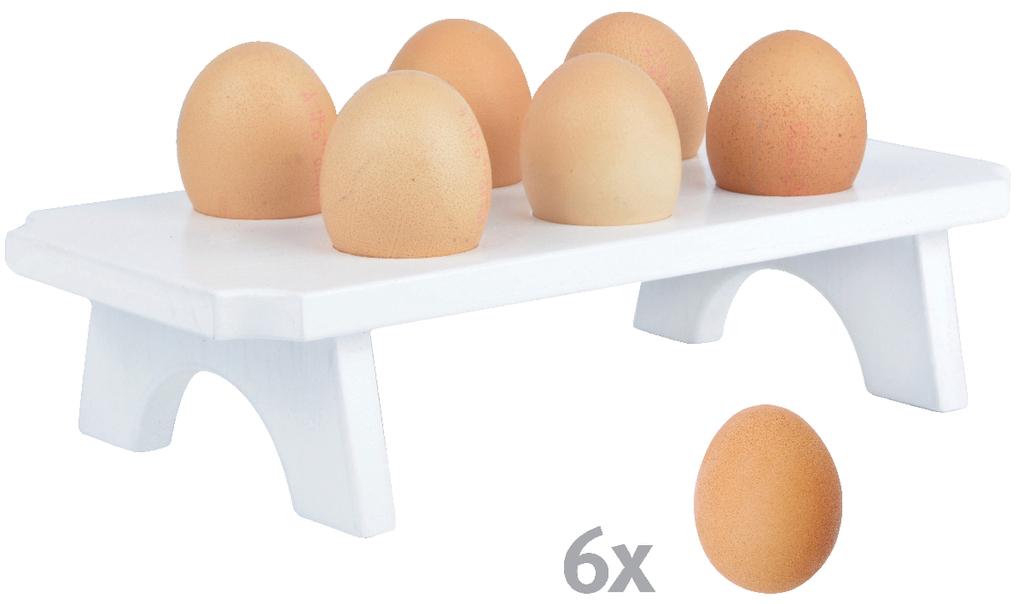 Stojánek na vejce | dřevěný