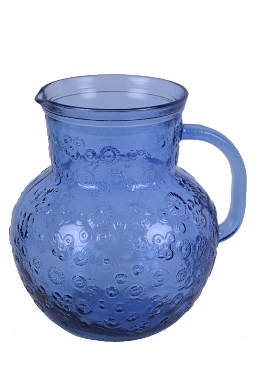 Flora Džbán na vodu   4 barvy Barva: modrá