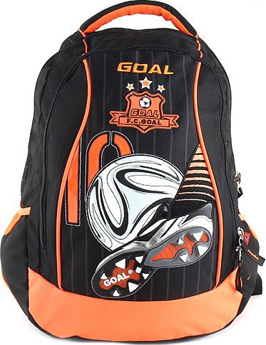 Target Školní batoh Goal 3D nášivka kopačky a fotbalového míče 36c1874a9b