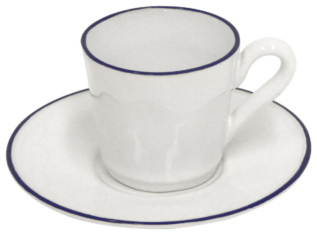 COSTA NOVA Hrnek na kávu s podšálkem | Beja | 0,1l