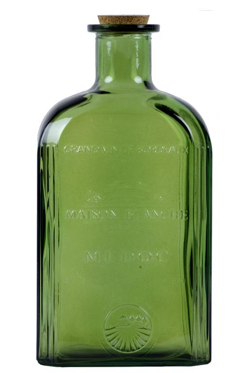 Ego Dekor Skleněná láhev| 2 barvy Barva: zelená EDZML-3052-C012/ZEL