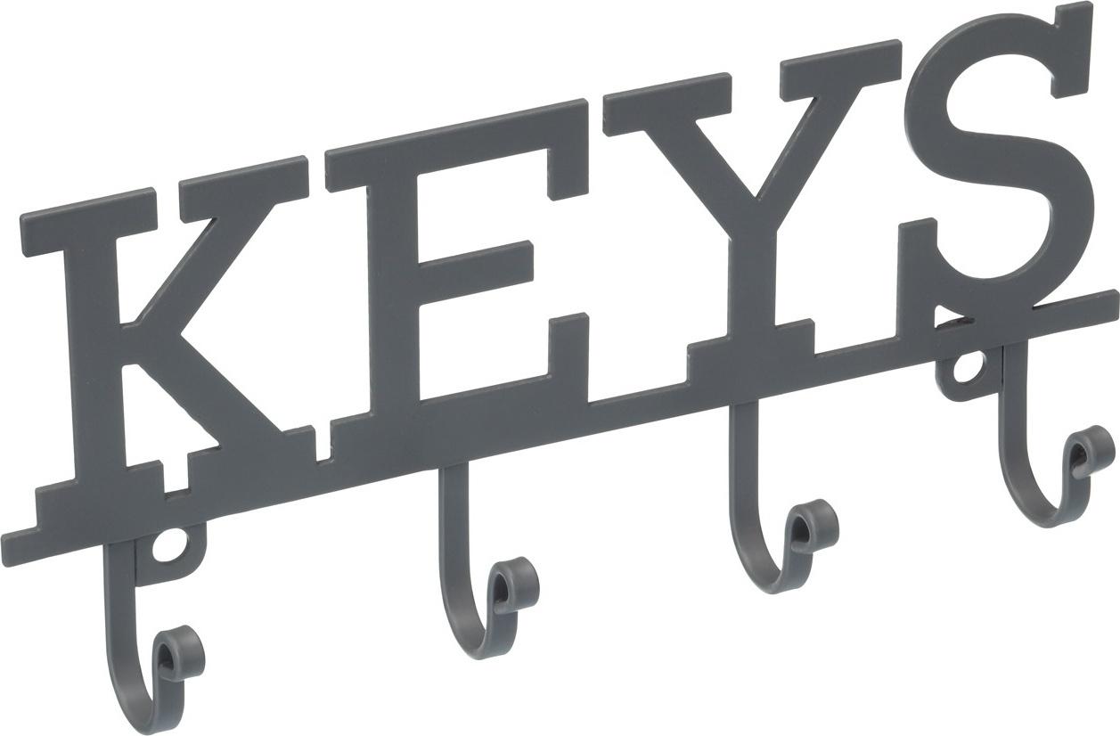 Kitchen Craft Kovový věšák na klíče Living Nostalgia