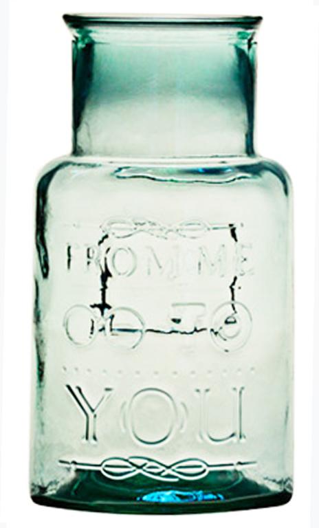 San Miguel Skleněná váza   From me to you   3 objemy Objem: 3l