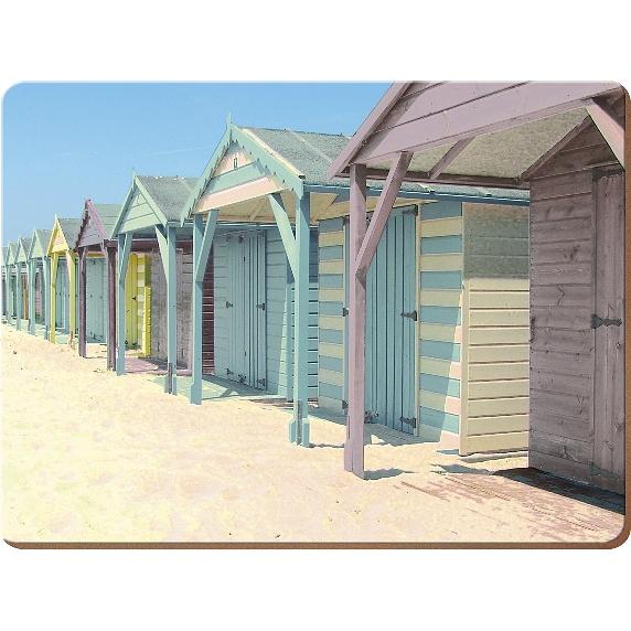 Creative Tops Korkové prostírání Photographic beach Rozměry: 21x29cm - 4ks