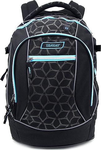 Studentský batoh Target Modro-černý se vzory NW2425260 c4a1f030bc