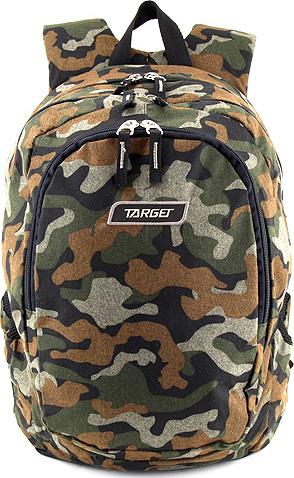 Studentský batoh Target Maskáčový NW2425271 17612f5dda