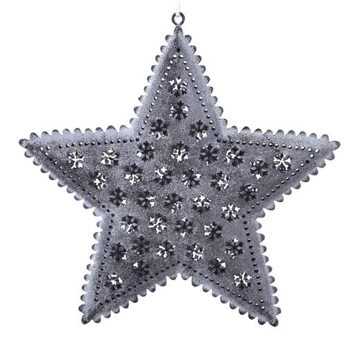 Ego Dekor Vánoční dekorace | hvězda | šedá