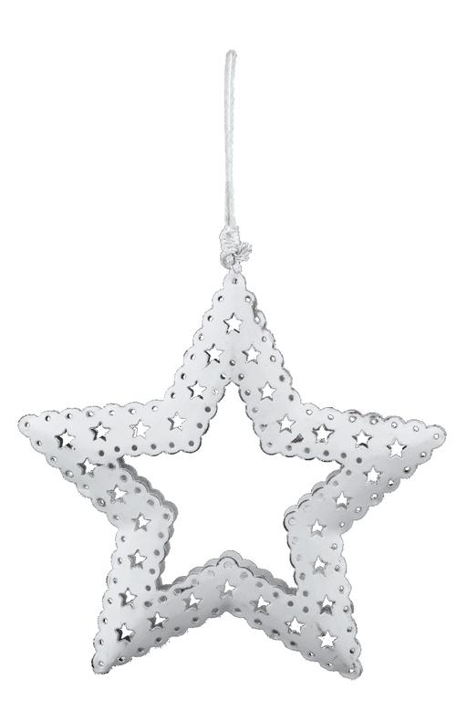 Ego Dekor Vánoční dekorace | hvězda | vyřezávaná | bílá Velikost: větší