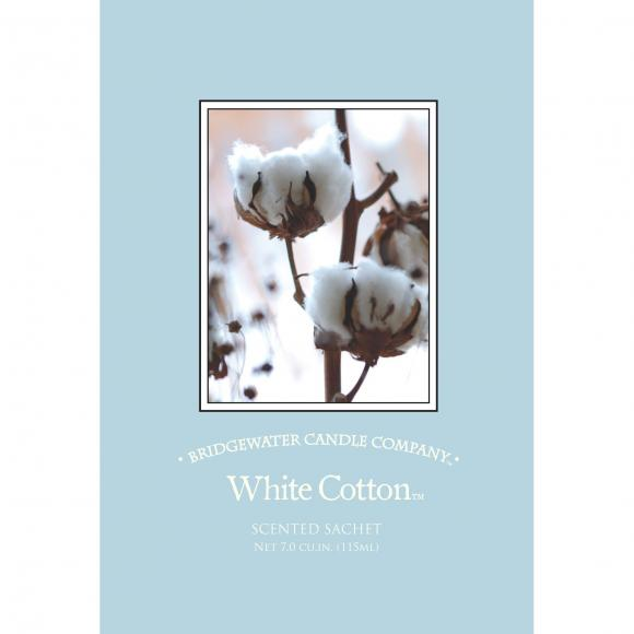 Bridgewater Candle Company Vonný sáček BAVLNA WHITE COTTON 115ml