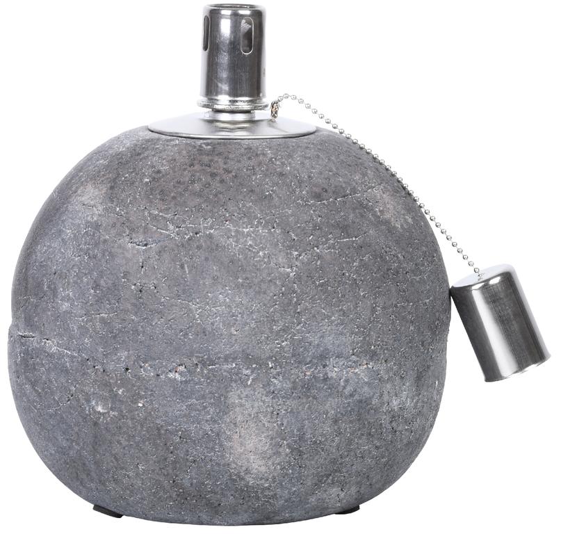 ESSCHERT DESIGN Olejová lampa   beton   2 varianty Velikost: větší