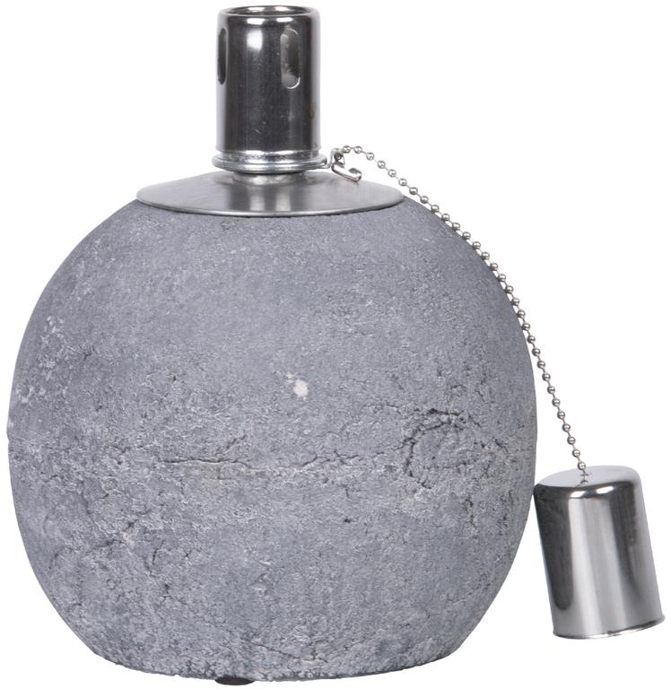 ESSCHERT DESIGN Olejová lampa   beton   2 varianty Velikost: menší