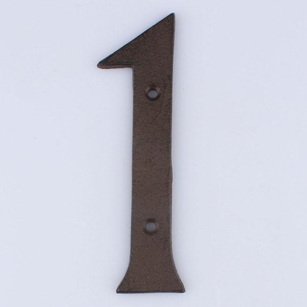 Casa de Engel Domovní číslo na fasádu | č.1 | 17x11 cm