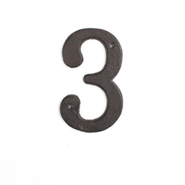 Casa de Engel Domovní číslo na fasádu | č.3 | 17x11 cm