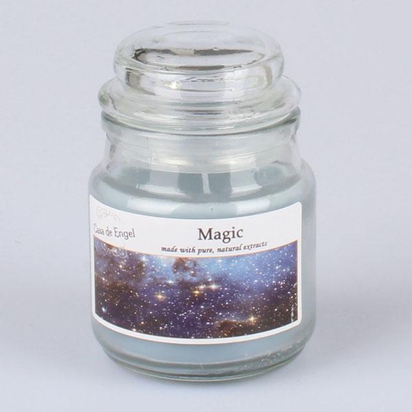 Casa de Engel Vonná svíčka ve skle se skleněným víčkem Magie 80g