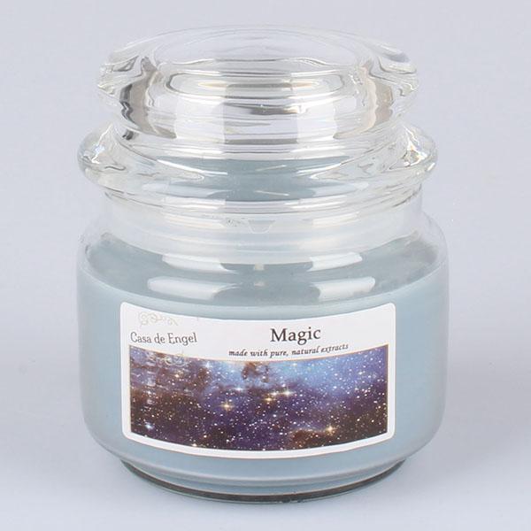 Casa de Engel Vonná svíčka ve skle se skleněným víčkem Magie 210g