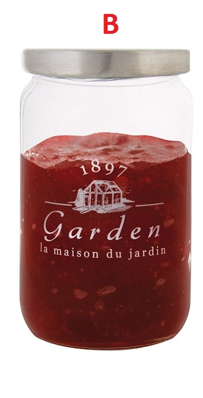 ESSCHERT DESIGN Skleněná dóza na marmeládu 9x9x16cm Provedení: B