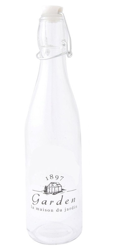 ESSCHERT DESIGN Skleněná lahev s uzávěrem I