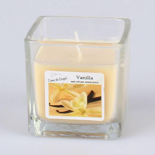 Casa de Engel Vonná svíčka ve skle Vanilka 85g