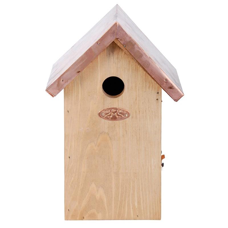 Dřevěná budka antik 16,7x13,8x25,8cm