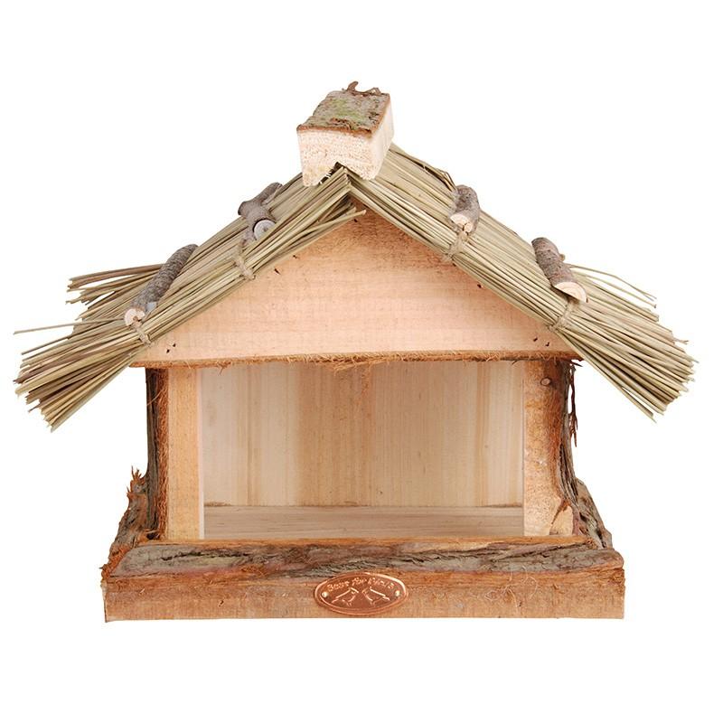 Krmítko s doškovou střechou 28x18x22,8cm