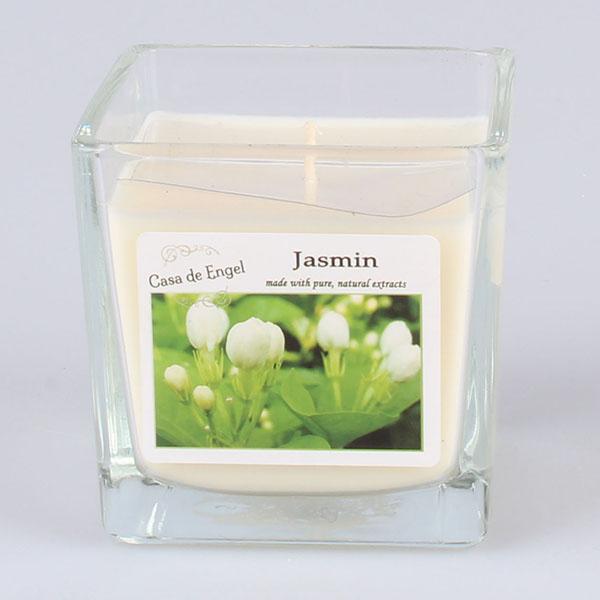 Casa de Engel Vonná svíčka ve skle Jasmín 200g