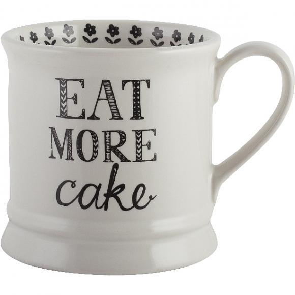 Creative Tops Keramický hrnek Eat More Cake 8x12x9cm 280ml