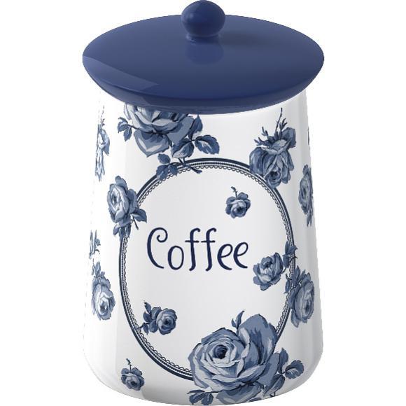 Creative Tops Keramická dóza na kávu Vintage Indigo 9x9x16cm