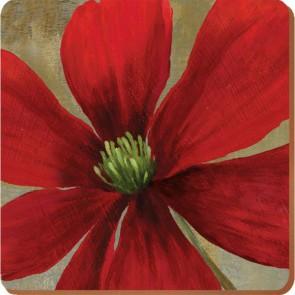 Creative Tops Korkové prostírání Flower Study Rozměry: 10x10cm - 6ks