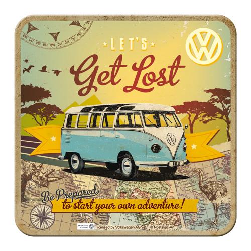 Nostalgic Art Podtácek VW Let's Get Lost