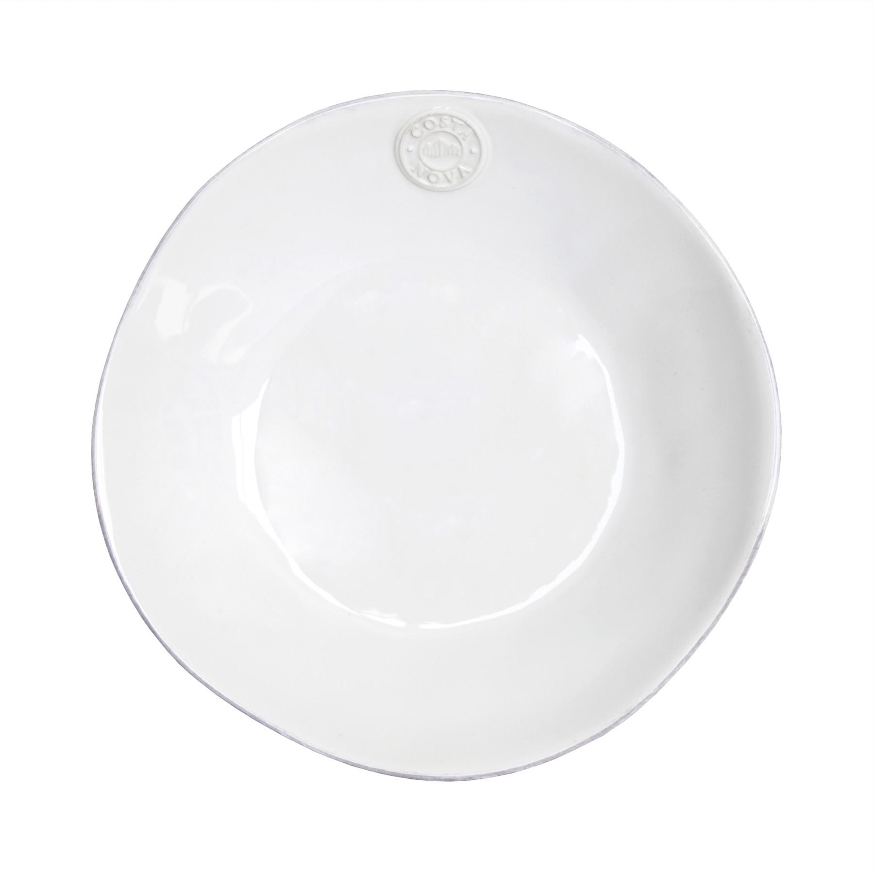 COSTA NOVA Talíř polévkový Nova 25cm Barva: bílá