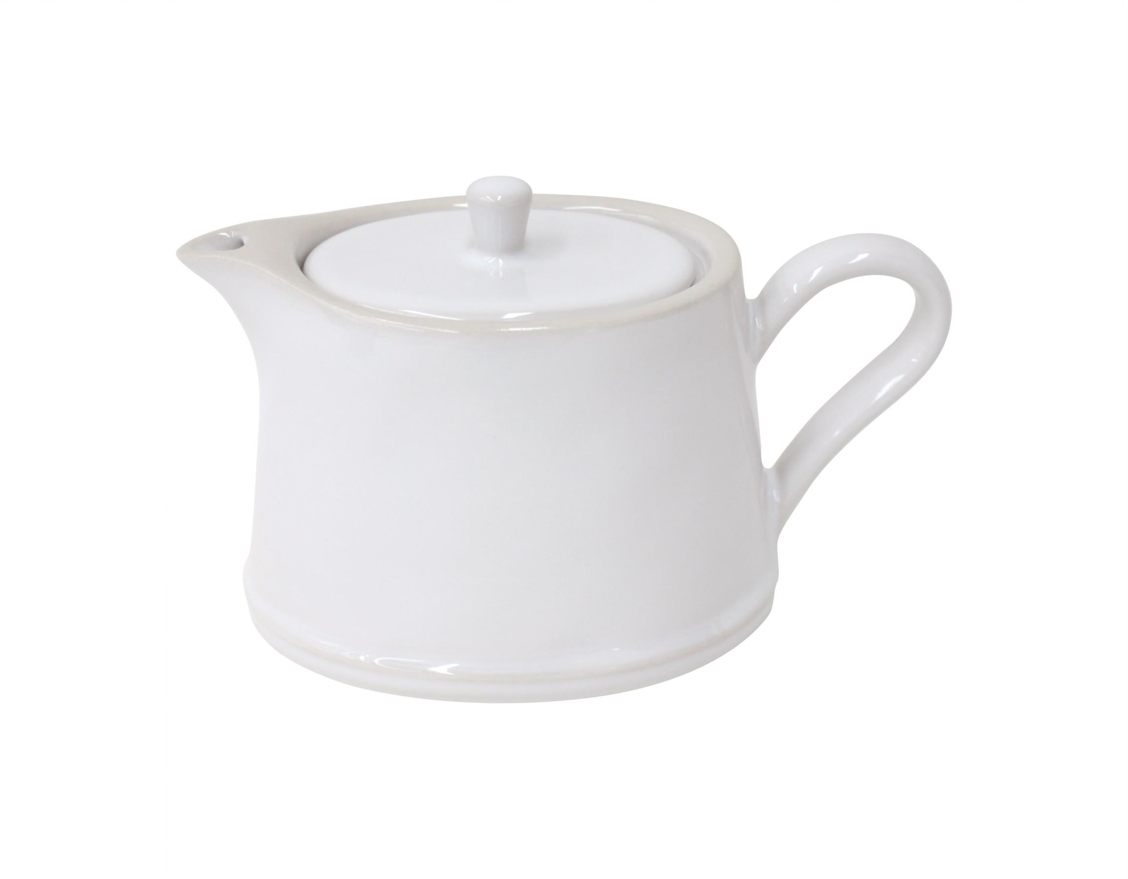COSTA NOVA Konvice na čaj Astoria bílá Objem: 0,5l