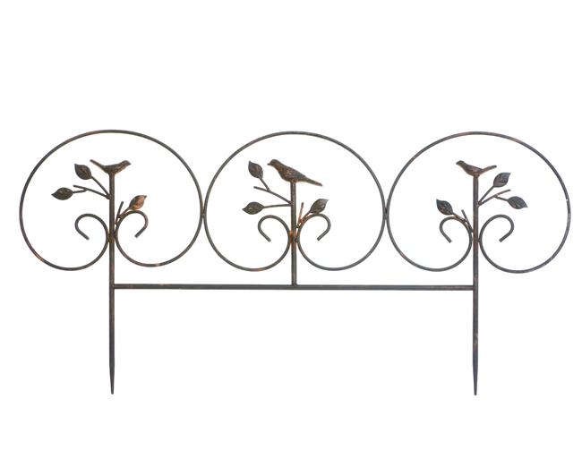 Kovový plot avis 67x38cm